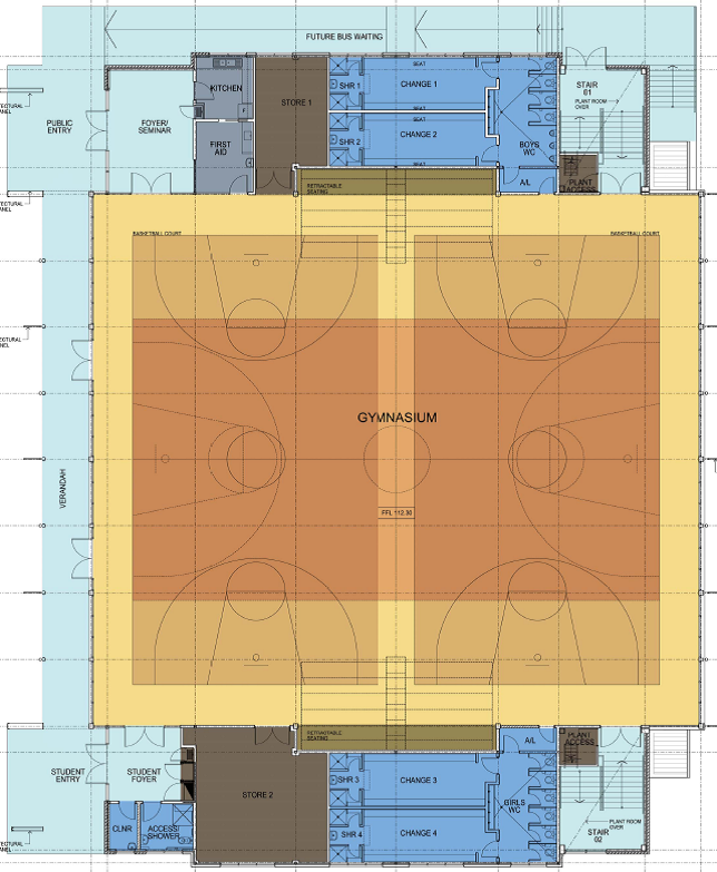 Mount Annan Gymnasium Floor Plan